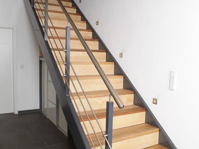 Holztreppe aus Heilbronn