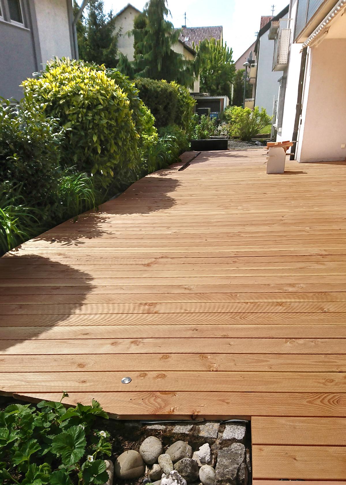 Holzboden für Terrasse   Schreinerei Schreiber